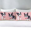 Image of Pink French Bulldog Pillow Cases 2pc Set