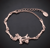 Image of Dog Bone Bracelet 18K Rose Gold