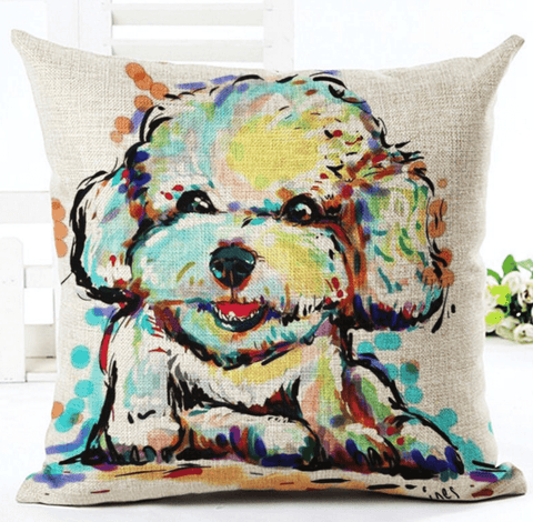 Happy Puppin Exclusive Series I Pillow Covers