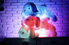 Image of Giant LED Plush Dog Stuffed Animal