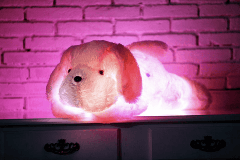 Giant LED Plush Dog Stuffed Animal