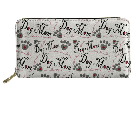 Dog Mom Designer Dog Wallet