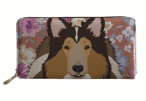 Collie Designer Dog Wallet