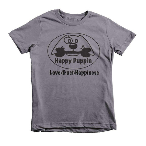 Happy Puppin Short sleeve kids t-shirt