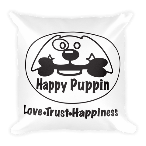 Happy Puppin Pillow