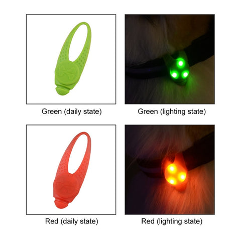 LED Safety Flashing Light For Collar
