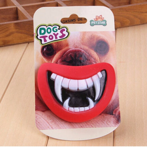 Giant Smile Funny Squeaky Dog Toy