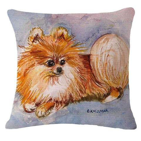Happy Puppin Classic Series I Pillow Covers