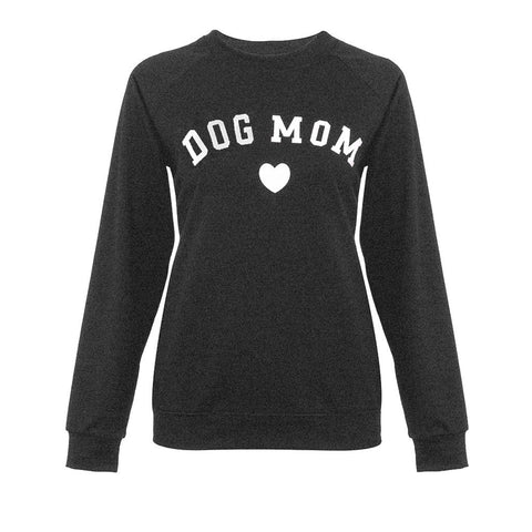 Dog Mom Crew Neck