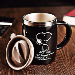 Stainless Steel Snoopy Coffee Mug