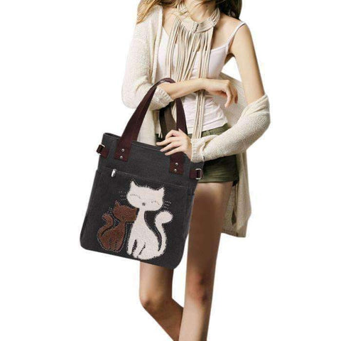 Designer Canvas Handbag