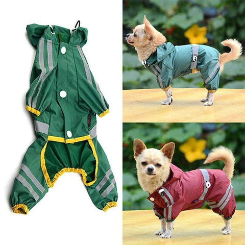 Waterproof Puppin Rain Jacket