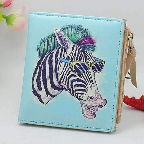 Artistic Style Animal Print Wallets