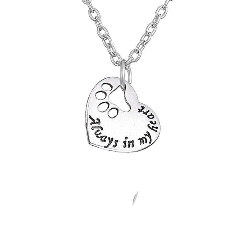 """Alway In My Heart Pendant Necklace"