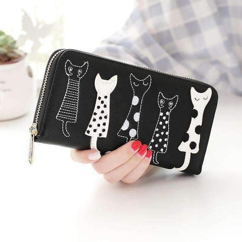 Five Cats Wallet