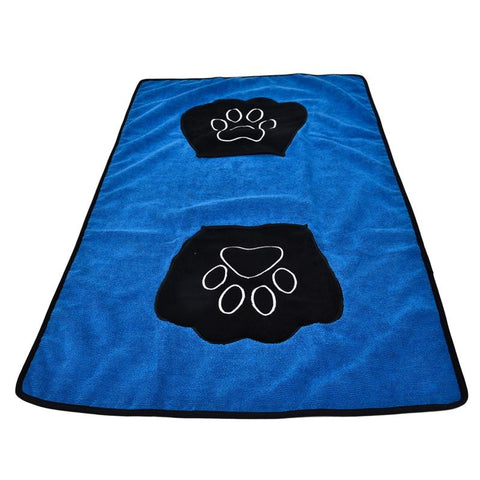 Ultra-absorbent Dog Bath Towel