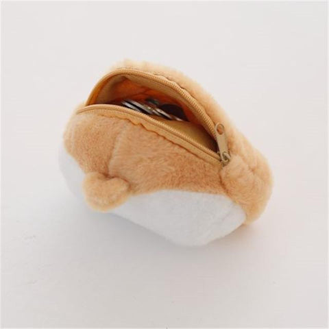 Corgi Butt Shape Coin Purse