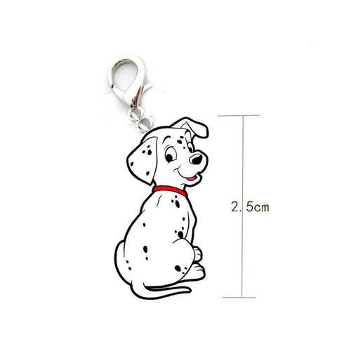 Dalmatian shape Dog ID Tag