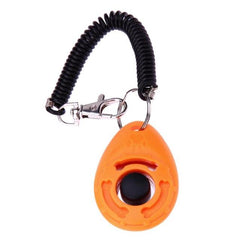 Adjustable Sound Key Chain Dog Clicker Dog Training Toy