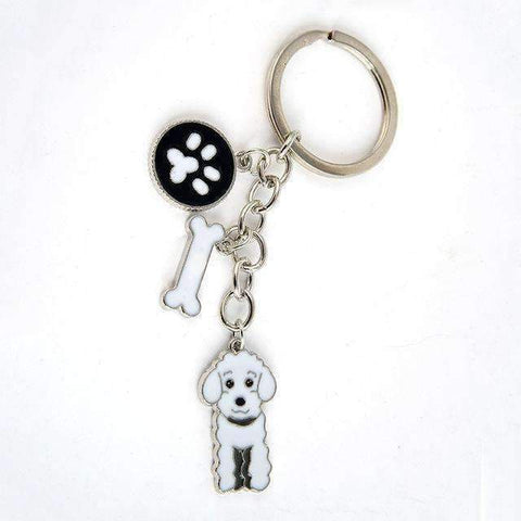Dog Pendant Key Chains Many Different Breeds