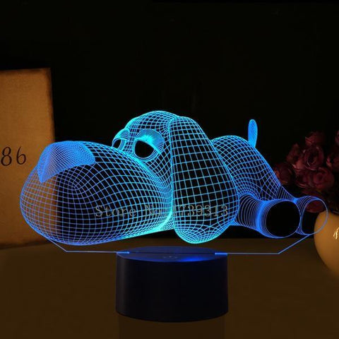 Exclusive Home Decor 3D Night Light