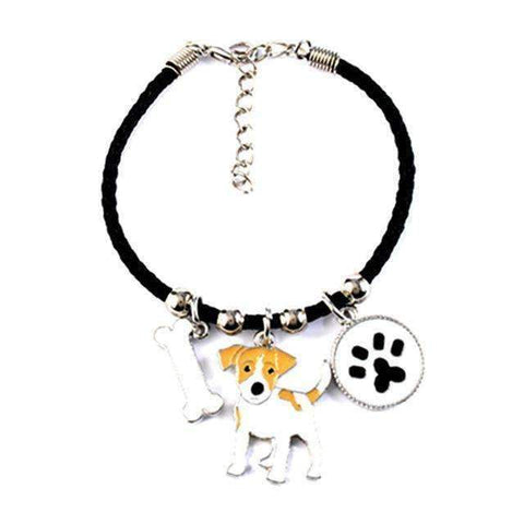 Cute Charm Dog Pattern Bracelet Many Different Breeds