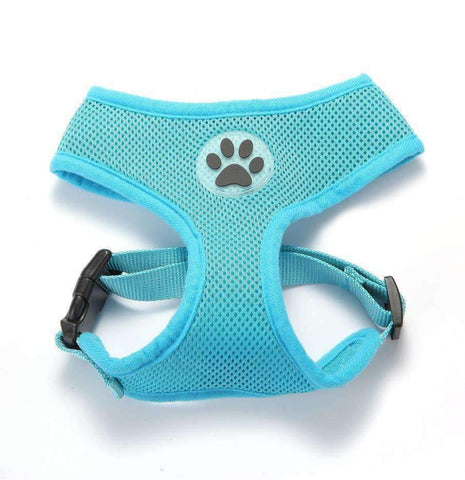 Soft Breathable Mesh Dog Harness 12 colors