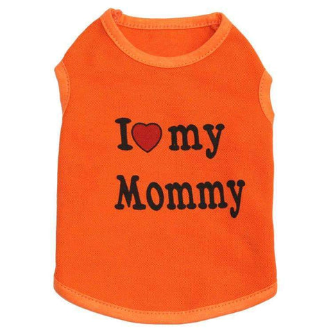 I love Mommy or I Love Daddy T-Shirt