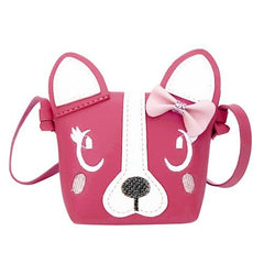 Cartoon Dog Face Small Messenger Bag