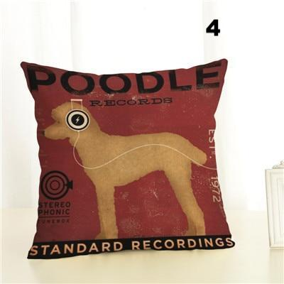 Happy Puppin Music Series Pillow Covers