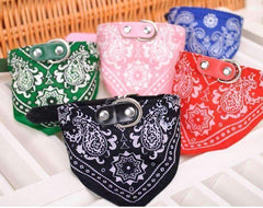 1Pc Dog Scarf Collar Adjustable Puppy Bandana