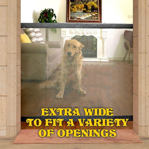 Extra Wide Easy Install Pet Gate