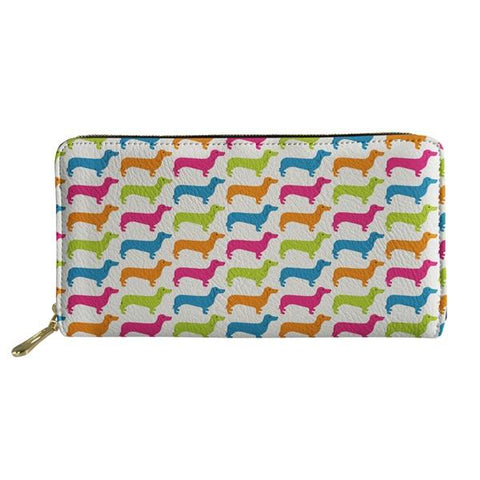 Dachshund Fun Clothes Wallet