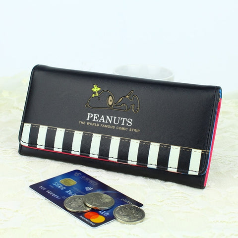 Snoopy Piano Wallet