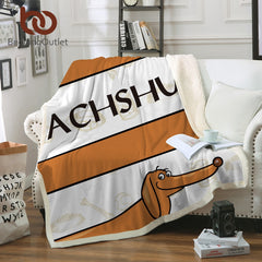 Dachshund Ultra Soft Blanket