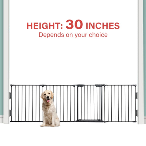 Multi-Functional Pet Safety Fence with Gate