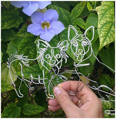 Personalized Handmade Wire Pet Creations