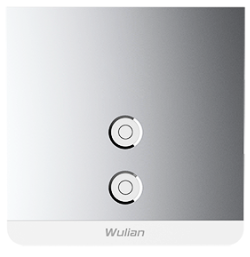 Smart Metallic Switch (Two-Gang)
