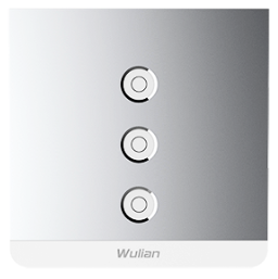 Smart Metallic Switch (Three-gang)