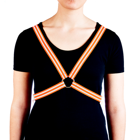 Harness - Fluro Orange