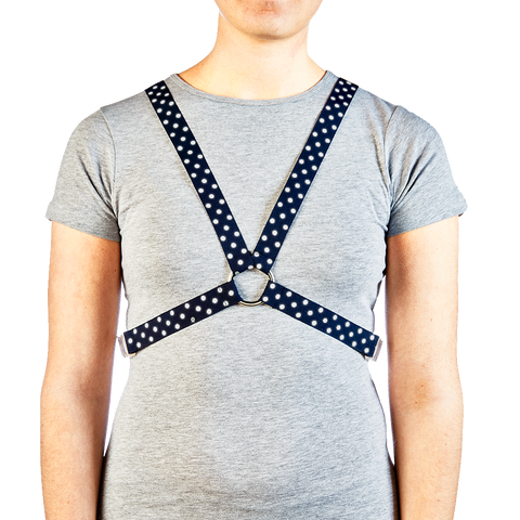 Harness - Dot French Navy
