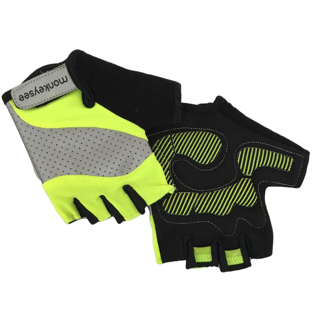 Women's Reflective Cycling Gloves