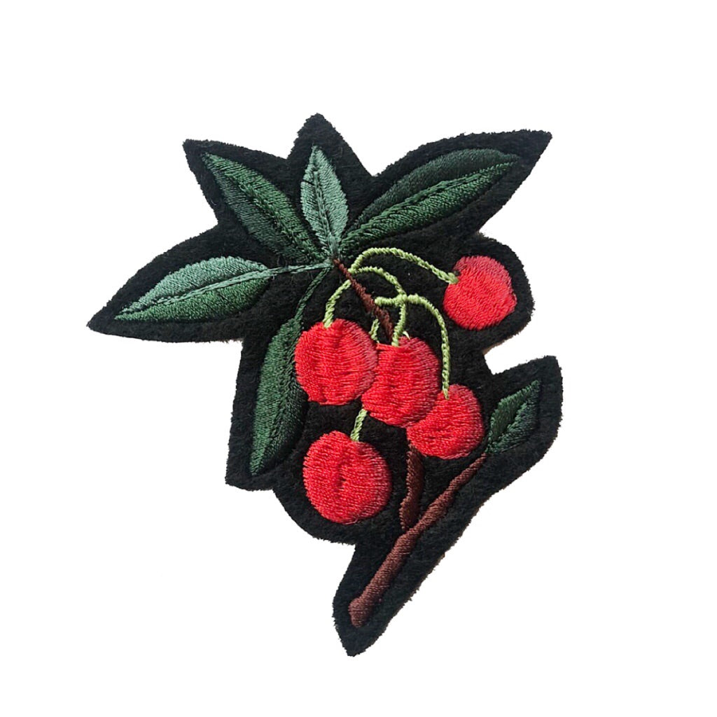Cherry Embroidered Patch 029 - Ltd Edition
