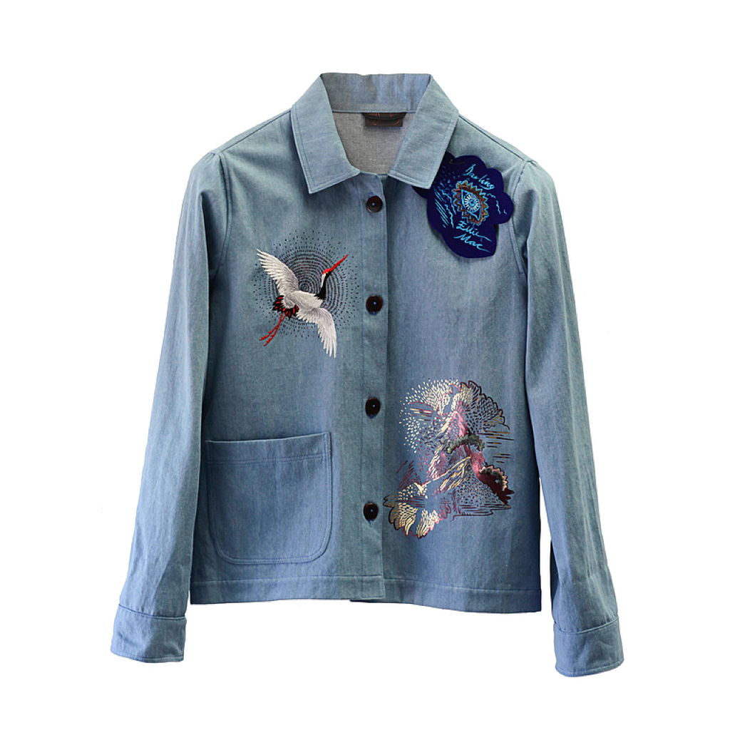 Made To Order Collaborative  Denim Jacket . SS18