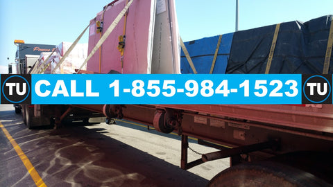 GTA (Greater Toronto Area) - Calgary, AB  (LTL - 10' Linear feet of 48/53' flatbed/stepdeck trailer, untarped, 1 driver, dock-to-dock, no touch)  QUOTE TU71211