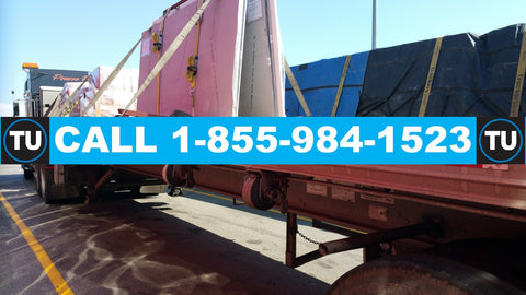 Thornhill, ON - Halifax, NS  (48/53' flatbed, 2-axle, untarped freight, up to 46000 lbs payload, with 1 driver)  QUOTE TU71111