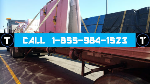 Toronto, ON - Local 48'/53' tandem-axle flatbed service, up to 44000 lbs per trailer  QUOTE XP1007995
