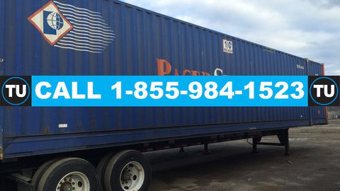 Toronto, ON - Calgary, AB  (53' Intermodal Container Service) up to 60000 lbs  QUOTE TU71120