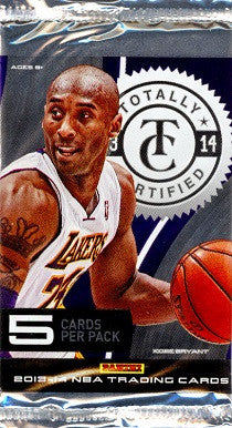2013-14 Panini Totally Certified Basketball Hobby Pack