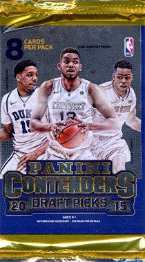 2015-16 Panini Contenders Draft Basketball Hobby Pack